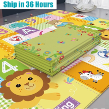 Educational Xpe Puzzle Mats for Kids Foldable Baby Play Mat Children