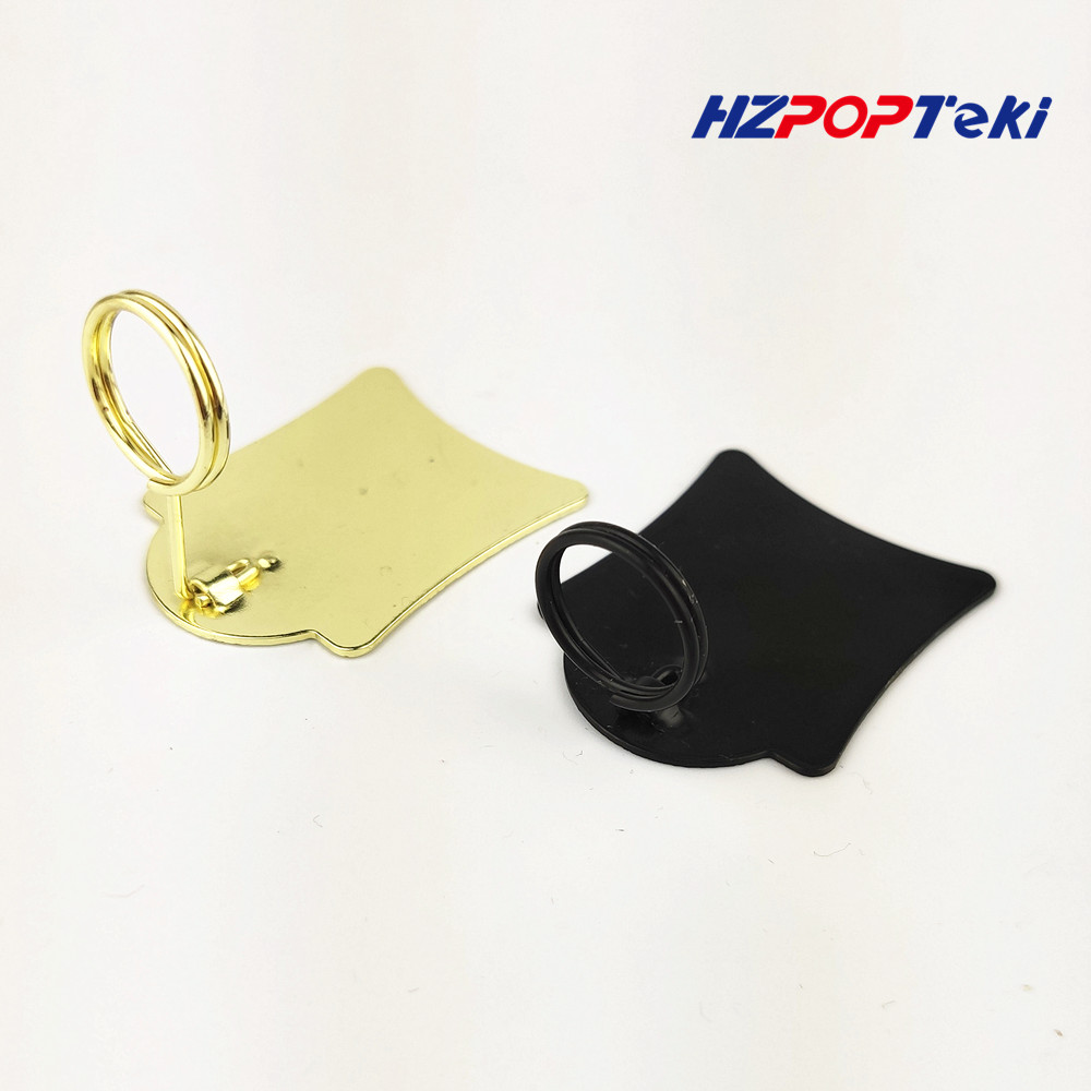 Mini Metal POP Merchandise Sign Signage Paper Card Price Promotion Display Label Small Clips Holders In Retail Shop 100pcs