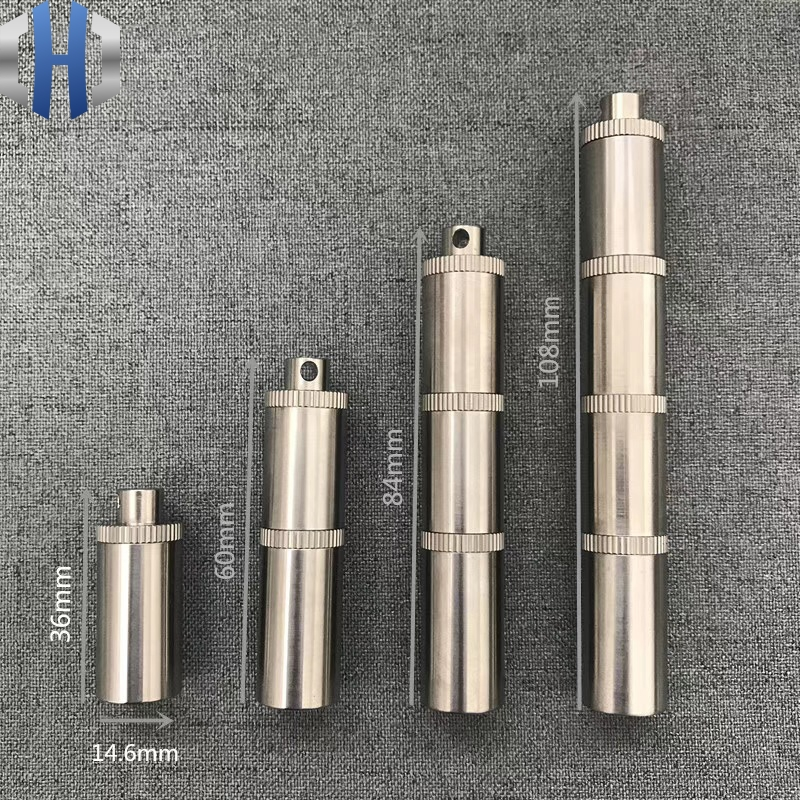 Titanium Mini Double Layer Multi-layer Pill Box Waterproof Warehouse Sealed Small Bottle First Aid Medicine Portable EDC Tools
