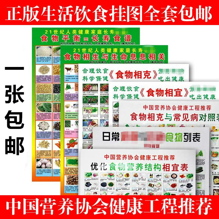 Phase Grams Of Health Food And Appropriate Hanging Picture Phase Grams Of Health Food Figure Full Set Health Care Nutrition Fami