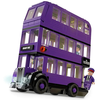11342 Harris Movie Series 3 Layers Bus Ornaments Model Building Blocks Kit Classic Bricks Kids Toy For Children Gift image