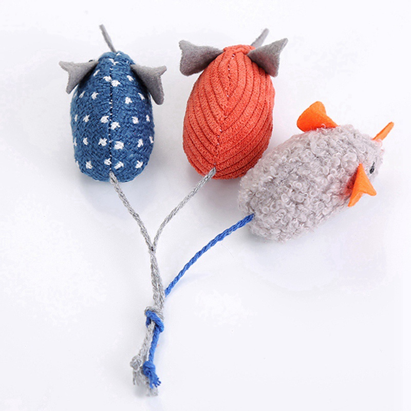 Simulation Plush Mouse Toy With Tail For Cats Pet Interactive Toy Teaser Kitten Supplies Puppy Playing Exercise Supplies Pet Toy 9