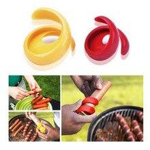 Slicer Kitchen Gadget Vegetable-Tools Sausage-Cutter Spiral Manual Fancy Cutting Fruit