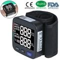 Медицинский тонометр, прибор для измерения артериального давления на запястье, Электрический автоматический цифровой прибор для измерени...