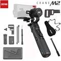 Zhiyun Crane M2 3-Axis Handheld Gimbal voor Mirrorless Camera Smartphones OSMO Actie Stabilizer PK FeiYu G6 Plus DJI ronin S