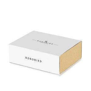 Image 5 - BOBO BIRD Wooden  Ebony Watch Men Quartz Wristwatches Male Wood Masculinos relogio masculino in Gift Box custom logo kol saati