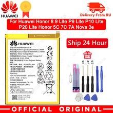 הואה ווי Orginal טלפון סוללה HB366481ECW עבור Huawei honor 8 כבוד 8 לייט כבוד 5C Ascend P9 huawei P10 P9 לייט G9 3000mAh