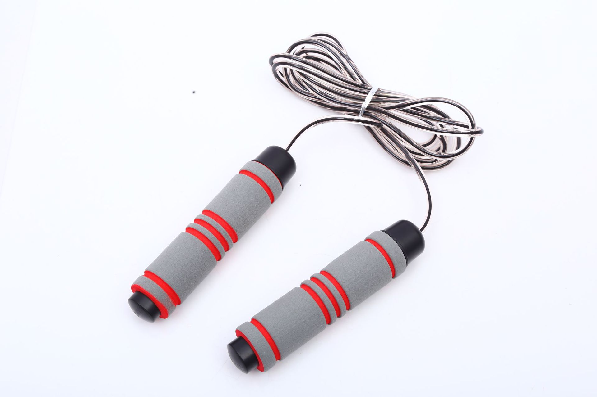 PVC Skipping Rope With Bearing Adjustable Bu Rao Lanyard 3 M Adult Only Steel Wire Jump Rope   Customizable