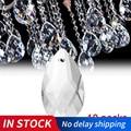 10 teile/paket 22mm Crystal Ball Prism Facettierte Glas Kronleuchter Kristall Teile Hängen Anhänger Beleuchtung Ball DIY Zubehör-in Kronleuchter Kristall aus Licht & Beleuchtung bei