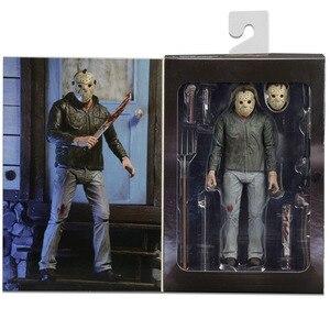 Image 5 - NECA 3D の金曜日 13th 部分 3 ジェイソン母 Pvc アクションフィギュア玩具人形 18 センチメートル