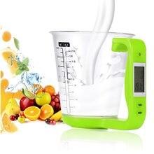 600ml 1kg/1g copo de medição escalas de cozinha copos medição de temperatura digital escala ferramenta eletrônica com display lcd
