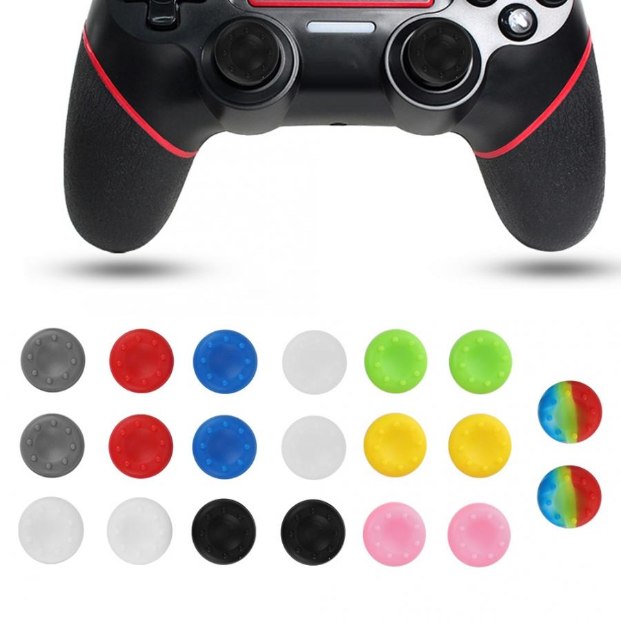 Arcade Joystick Thumb-Grip-Stick Game-Controller for 20pcs Anti-Skid Colorful Silicone