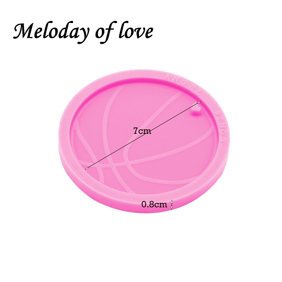 DIY Shiny Glossy Castle Mold Silicone For Epoxy Resin Jewelry Making Keychain