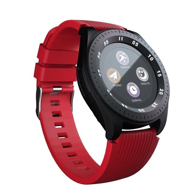 Z4 montre de téléphone intelligent Android SIM TF carte Dail appel rond écran tactile bluetooth 3.0 montres hommes dame Fitness santé Smartwatch