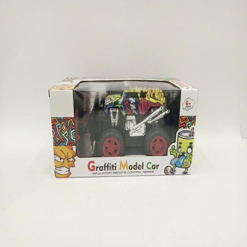 Children Graffiti Off-road Model Remote Control Car Boy Toy Gift Race Car Remote Control Car Model