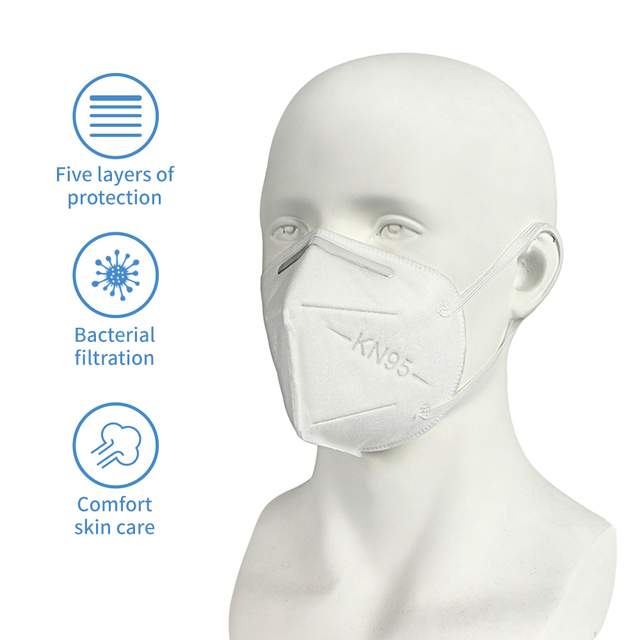 5/10PCS KN95 Protective Mask 5 Layers N95 Flu Anti Infection Masks Maldehyde Prevent Bacteria Masks 5 1