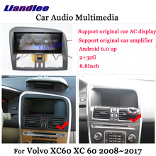 Liandlee Android para Volvo XC60 XC 60 2008 ~ 2017 Radio Estéreo Carplay aparcamiento Cámara TV Wifi AUX GPS Navi navegación Multimedia