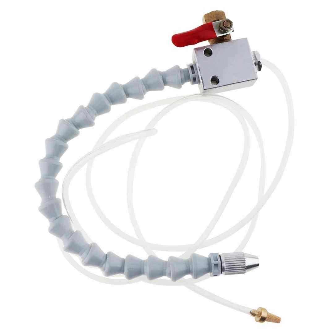 Ajustement blanc de robinet à tournant sphérique de pulvérisateur de refroidissement de robinet à tournant sphérique de Tube et relient la Machine de refroidissement/tour de CNC de coupe en métal de tuyau d'air de 8mm