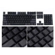 Смешанные двухцветные клавишные ключи английский Languag практичные переключатели индивидуальные PBT 104 клавишные Компьютерные аксессуары для механической клавиатуры