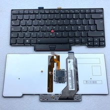 цена на French Backlit Laptop keyboard For ThinkPad Lenovo X1 Carbon 1st Gen Fru 04Y0797 parts no 0C02188 FR Azerty Layout