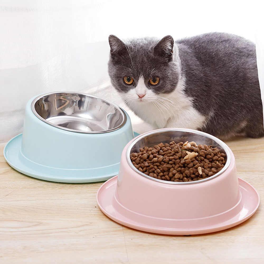 con base antideslizante y antidesbordamiento SUSSURRO 3 cuencos para perro acero inoxidable 15,5 cm gato verde tender+rosa + amarillo