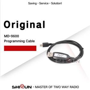 Image 1 - Câble de programmation USB pour TYT MD 9600 câble de programmation Radio Mobile DMR Compatible avec les fenêtres de talkie walkie de voiture numérique RT90