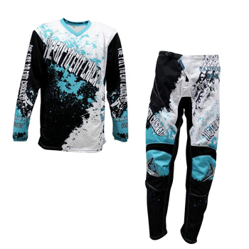 2020 SAIYOUQI New Motocross Suit Motobiker Racing Riding Jersey and Pants Motorcycle MX Gear Full Suit