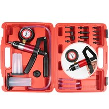 Brand New Hand Held DIY Brake Fluid Bleeder Tools Vacuum Pistol Pump Tester Kit Body Pressure Vacuum Fluid Reservoir Oil Tester