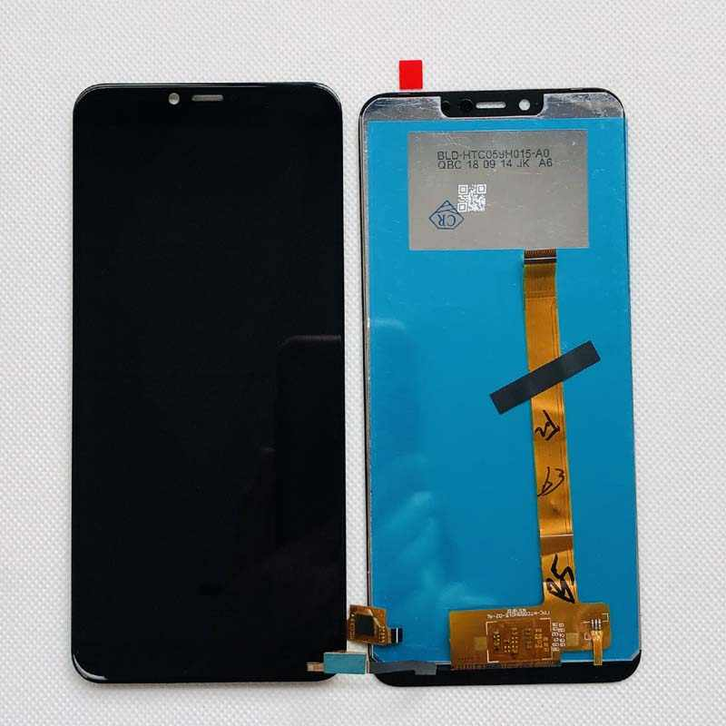 Color : Black Black Zhangfei Phone Replacement Parts LCD Screen and Digitizer Full Assembly for Wiko View Max