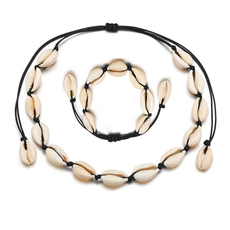 Collier Choker Seashell Necklace Kolye Arrival Collares 2019 Vsco Moana Sautoir Handmade Clavicle Chain Colar Women