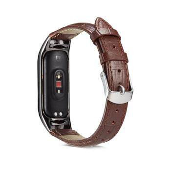 Mi Band 3 4 Wrist Strap For Xiaomi Miband 3 4 Smart Bracelet High Quality Leather Band Correa Miband 4 3 pulseira Watchstrap