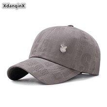XdanqinX Snapback Cap Adult Mens Cotton Baseball Caps Adjustable Size Autumn Womens Ponytail Fashion Sports Couple Hats