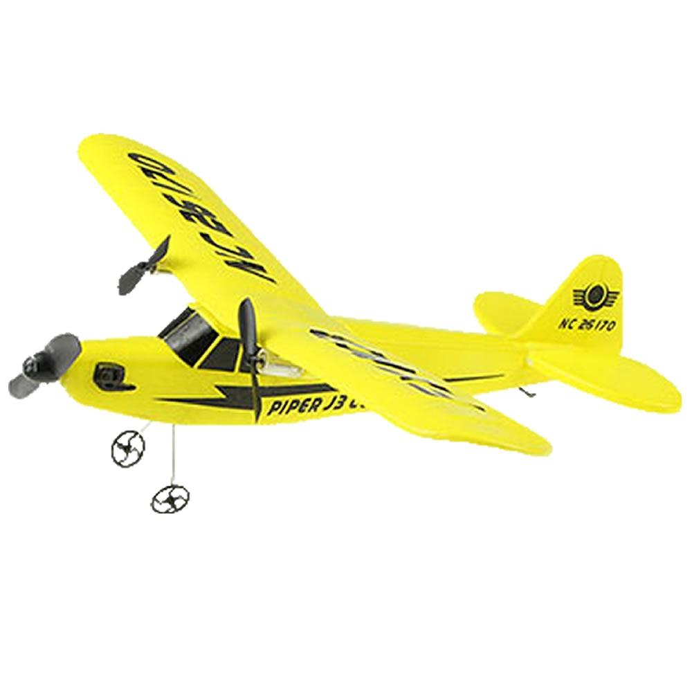 RC avion électrique télécommande avion RTF Kit EPP mousse 2.4G contrôleur 150 mètres vol Distance avion Global jouet chaud 3