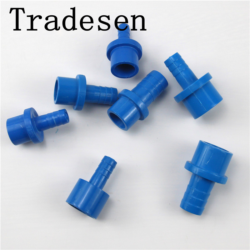 1pcs  PVC Convert 20mm 25mm Pipe Reducer Connector Soft Hose Adapter Tube Fittings Garden Irrigation Plant Watering