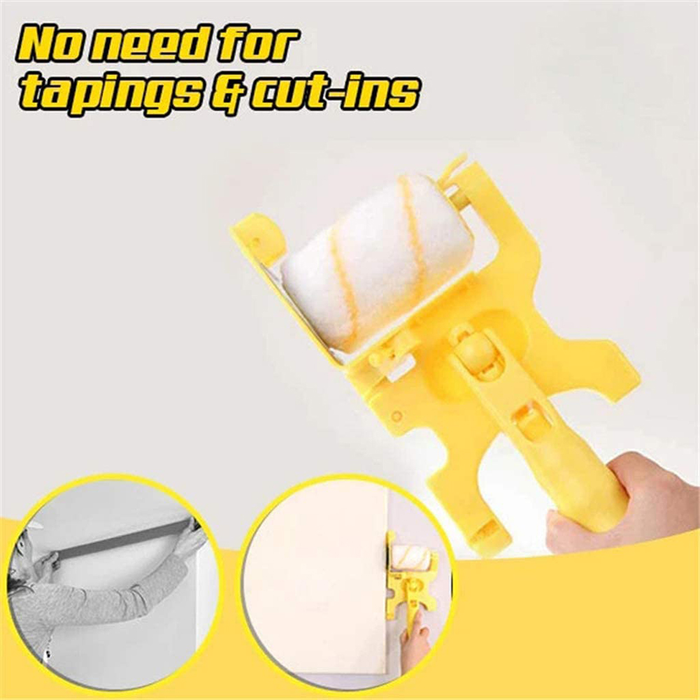 Household Trimming Roller Clean-Cut Paint Edger Roller Brushes for Wall Ceiling Wall Treatment Painting Tools