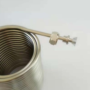Image 5 - 50 Stainless Steel Coil ,Jockey box coil,For homebrew  with 5/8G stainless steel connector(Only Coil, Not include box and tap)