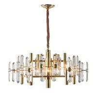 Lustres de ouro lustre vidro moderno lighing sala estar jantar led pendurado luminária luxo decoração para casa lâmpadas
