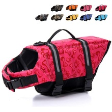 Dog Puppy Rescue Swimming Wear Safety Clothes Vest Swimming Suit Outdoor Pet Dog Cat Float Doggy Life Jacket Vests XS-XL