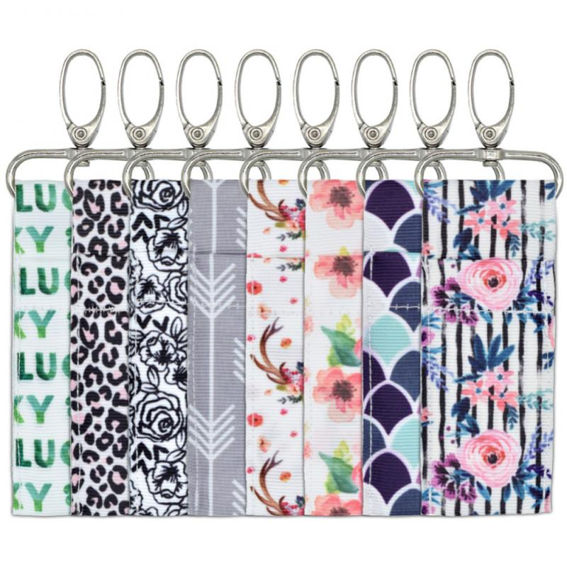 Chapstick Holder Wall Mounted Storage Bag Lip Balm Holder Closet Organizer  Lip Balm Keychain Children Room Hanging Storage