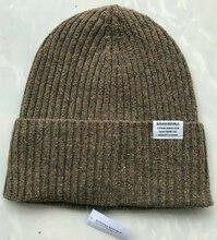 Männer Frauen Merino Wolle Beanie Hut Winter Merino Wolle Rippen Cuff Knit Beanie Hut Thermische Warme Kappe Stricken Sport Im Freien warme Kappe
