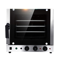60L Stainless Steel 4 trays Hot air Convection Oven Commercial automatic electric oven Multifunction Pizza/cookies Baking oven