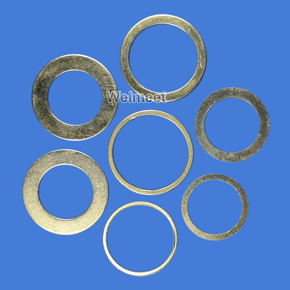 2pcs Saw Blade Adjustable Gasket Saw Hole Adapter Connecting Ring Reducing Washer