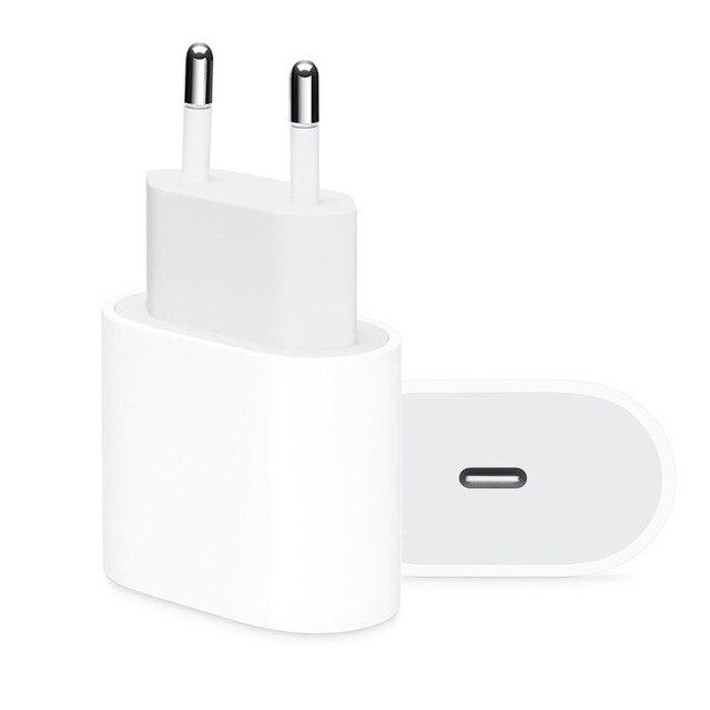 オリジナル 18 ワット pd 急速充電器 apple の iphone 11 プロマックス xs xr 7 8 プラス ipad の純正 usb タイプ c ケーブル急速充電アダプタ