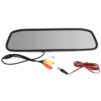 diysecur wireless 4 3 inch car reversing camera kit back up car monitor lcd display hd car rear view camera parking system Brand New Universial 4.3 inch HD TFT LCD Display Car Rearview Mirror Monitor for Parking Reversing Rear View Camera