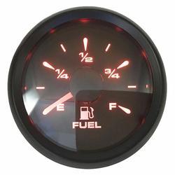 1pc nowy styl 52mm 10-180ohm wskaźniki poziomu paliwa 240-30ohm Lcd mierniki poziomu paliwa 0-190ohm wskaźnik paliwa z 8 rodzajów podświetlenie kolor