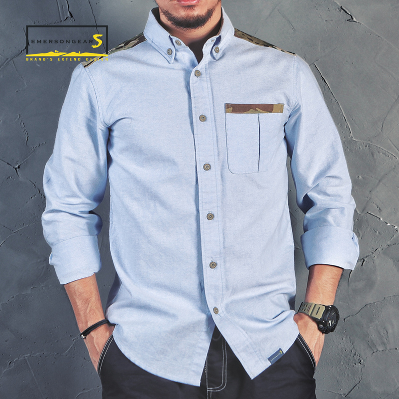 Мужская тактическая рубашка emersongear, повседневная камуфляжная рубашка с длинными рукавами, для активного отдыха, походов и занятий спортом