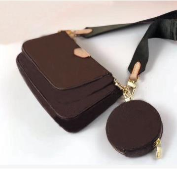 Vogue Handbags High Fashion Crossbody Bags For Women 2019 Designer 3-piece Set Accessories Real Leather Free Shipping
