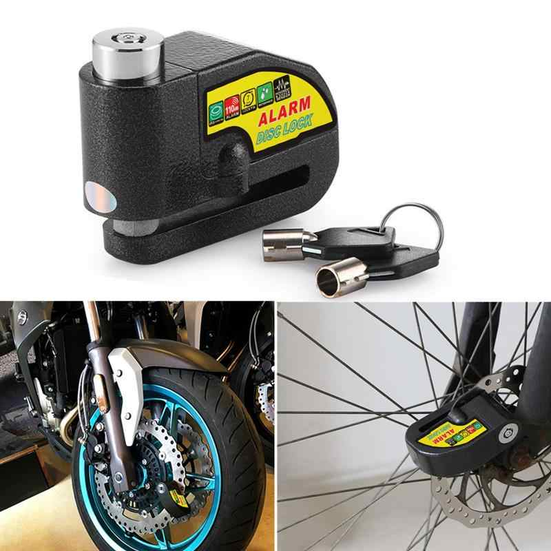Anti-theft Wheel Disc Brake Lock Security For Motorcycle Bicycle ElectricScooter