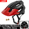 BATFOX Homens Capacete Da Bicicleta Capacete de Mountain Bike XC TRAIL MTB Ultraleve Capacete Estrada Integ-Moldado cruz Ciclo Ciclismo BMX capacete 7