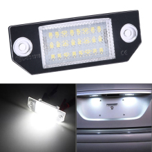 Tail-Light License-Plate-Lights Number-Accessories Car-Styling 12V SPEEDWOW for 03-18